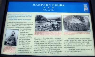 Harpers Ferry Marker image. Click for full size.