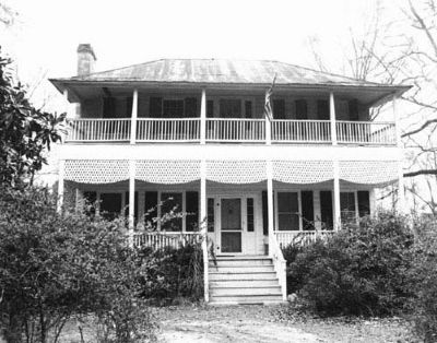 Historic Village of Pineville , Robert Marion House c. 1820 image. Click for full size.