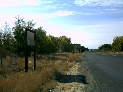 11,000 Years of Indian Occupation Marker Along Hwy 95 image. Click for full size.