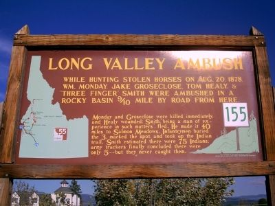 Long Valley Ambush Marker image. Click for full size.