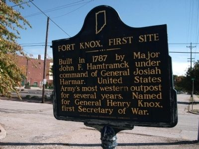 Fort Knox, First Site Marker image. Click for full size.