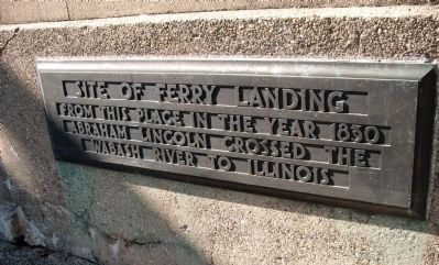 Site of Ferry Landing Marker image. Click for full size.
