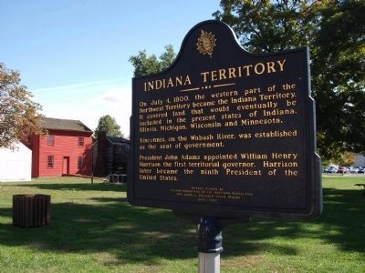 Indiana Territory Marker image. Click for full size.