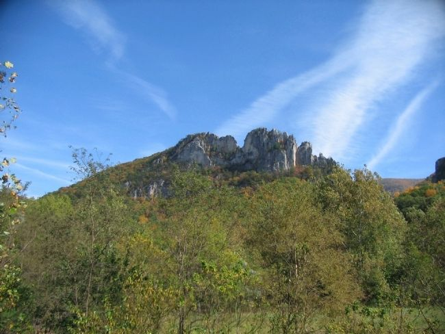 Seneca Rocks image. Click for full size.
