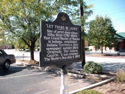 "Obverse Side - - "" Let There Be Light "" Marker image. Click for full size."
