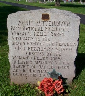 Annie Wittenmyer Marker image. Click for full size.