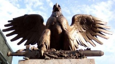 Pottstown War Memorial Eagle image. Click for full size.