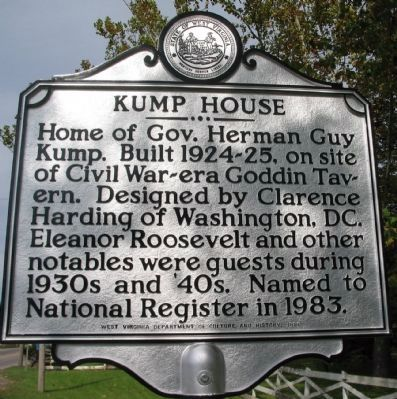 Kump House Side image. Click for full size.