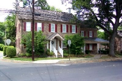 Eighteen-century Building at Intersection of Bristol and Old York Roads image. Click for full size.