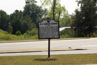 Old Moncks Corner Marker image. Click for full size.