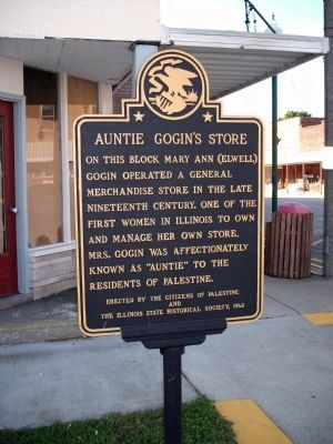 Auntie Gogin's Store Marker image. Click for full size.
