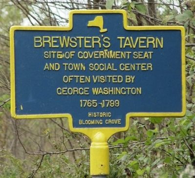 Brewster's Tavern Marker image. Click for full size.