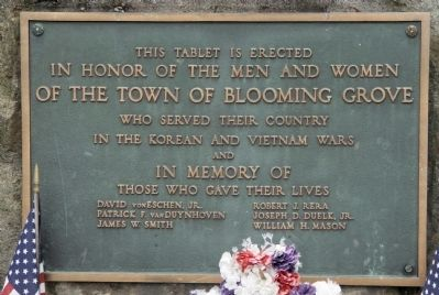 Korean and Vietnam Wars Monument Photo, Click for full size