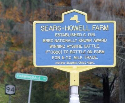 Sears-Howell Farm Marker image. Click for full size.
