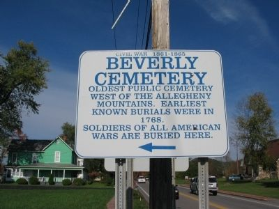 Beverly Cemetery image. Click for full size.