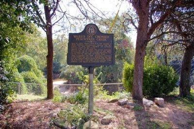 Ward's Div. Crossed Peachtree Creek Marker image. Click for full size.
