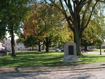 Other Wide View - - Gold Star - - Honor Roll Marker Photo, Click for full size