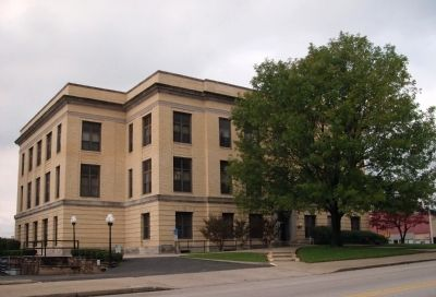South West Corner - - Pike County Courthouse image. Click for full size.