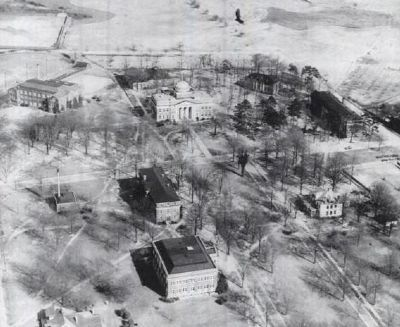 Ariel View of Presbyterian College image. Click for full size.
