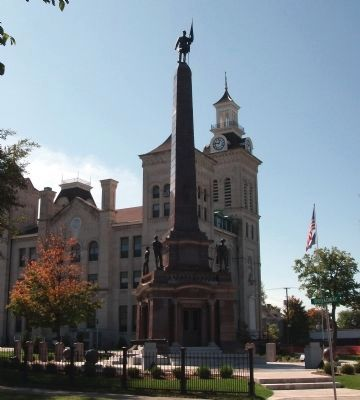 North Side - - Knox County Civil War Memorial image. Click for full size.