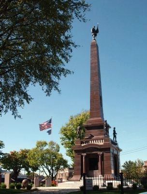 North East Corner - - Knox County Civil War Memorial image. Click for full size.