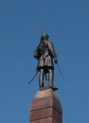 Other View - - Top Statue - Knox County Civil War Memorial image. Click for full size.