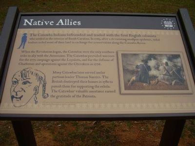 Native Allies Marker image. Click for full size.