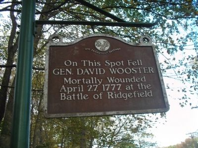 Gen. David Wooster Marker image. Click for full size.
