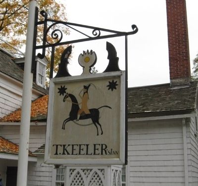 Keeler Tavern Sign Photo, Click for full size