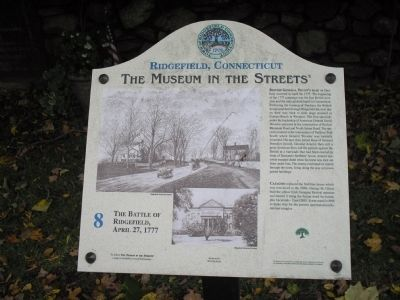 The Battle of Ridgefield, April 27, 1777 Marker image. Click for full size.