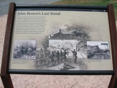 John Brown's Last Stand Marker image. Click for full size.