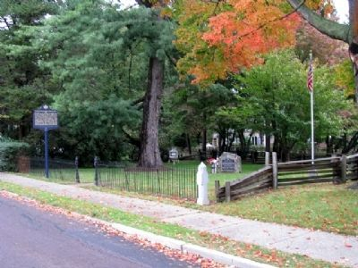 Revolutionary War Burial Site and Markers image. Click for full size.