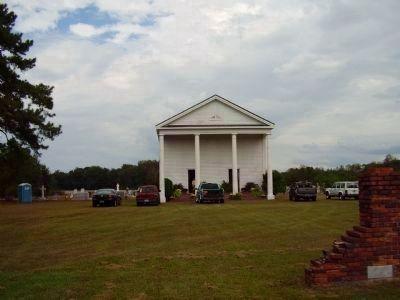 Lynchburg Presbyterian Church and Cemetery image. Click for full size.