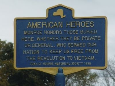American Heroes Marker image. Click for full size.