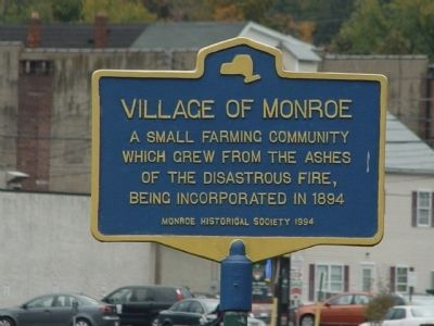 Village of Monroe Marker image. Click for full size.