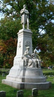 Franklin County Civil War Memorial image. Click for full size.