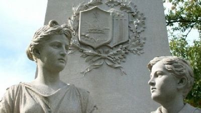 Franklin County Civil War Memorial Statuary Detail Photo, Click for full size