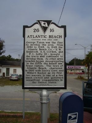 Atlantic Beach Marker image, Click for more information