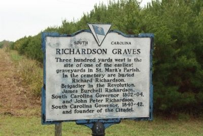 Richardson Graves Marker image. Click for full size.