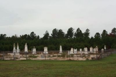 Richardson Graves ; Presently the cemetery is closed - under renovation image. Click for full size.