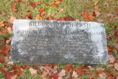 W. J. Cash Grave image. Click for full size.