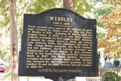 Webbley Marker Photo, Click for full size