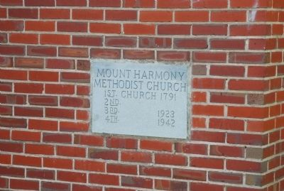 Mount Harmony United Methodist Church image. Click for full size.
