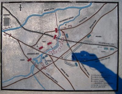 Map of the Battle of Wyse Fork Photo, Click for full size