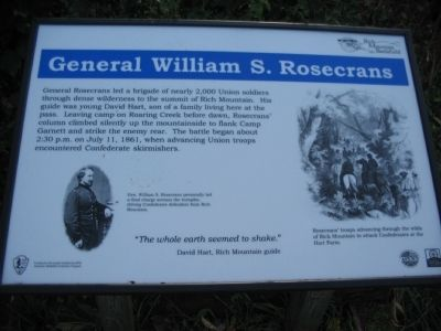 General William S. Rosecrans Marker image. Click for full size.