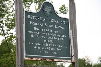 Historical Home Site Marker image. Click for full size.