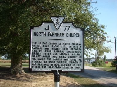 North Farnham Church Marker Photo, Click for full size