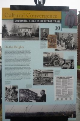 On the Heights Marker image. Click for full size.