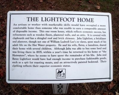 The Lightfoot Home. image. Click for full size.