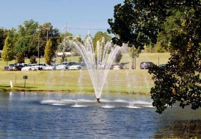 Limestone Springs Fountain image. Click for full size.
